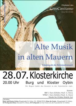 Alte Musik in alten Mauern